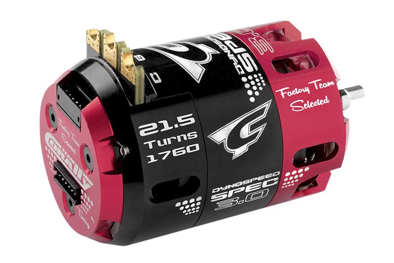 Team Corally - Dynospeed SPEC 3.0 - 1/10 Sensored 2-Pole Competition Brushless Motor - Stock - 21.5 Turns - 1760 KV