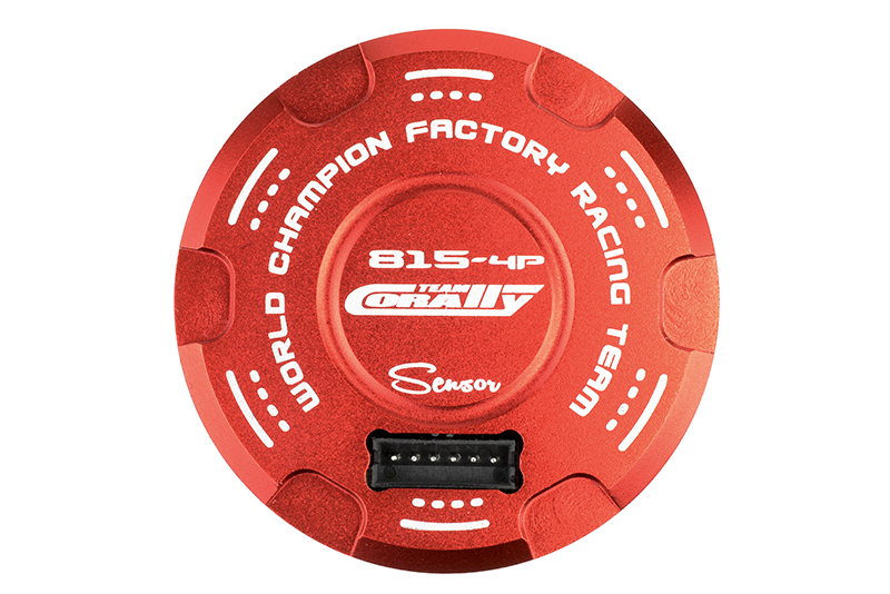 Team Corally - Dynotorq 815 - 1/8 Sensored 4-Pole Competition Brushless Motor - 4-Poles - Turns 2D - 2150 KV