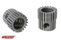 Team Corally - 64 DP Pinion - Short - Hard Anodised AL7075 - 20 Teeth - Shaft Dia. 3.17mm