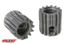Team Corally - 48 DP Pinion - Short - Hard Anodised AL7075 - 14 Teeth - Shaft Dia. 3.17mm