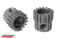 Team Corally - 48 DP Pinion - Short - Hard Anodised AL7075 - 16 Teeth - Shaft Dia. 3.17mm