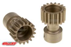 Team Corally - 48 DP Pinion - Long Boss - Hardened Steel - 17 Teeth  - ø3.17mm