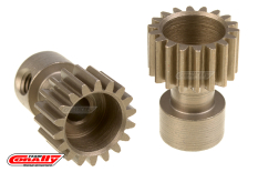 Team Corally - 48 DP Pinion - Long Boss - Hardened Steel - 18 Teeth  - ø3.17mm