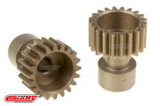 Team Corally - 48 DP Pinion - Long Boss - Hardened Steel - 20 Teeth  - ø3.17mm