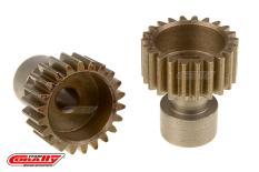 Team Corally - 48 DP Pinion - Long Boss - Hardened Steel - 22 Teeth  - ø3.17mm