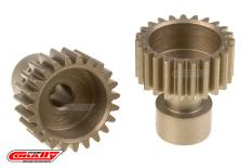 Team Corally - 48 DP Pinion - Long Boss - Hardened Steel - 23 Teeth  - ø3.17mm