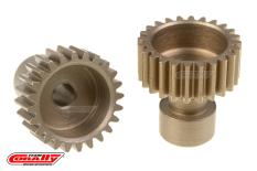 Team Corally - 48 DP Pinion - Long Boss - Hardened Steel - 24 Teeth  - ø3.17mm