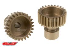 Team Corally - 48 DP Pinion - Long Boss - Hardened Steel - 25 Teeth  - ø3.17mm
