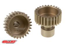 Team Corally - 48 DP Pinion - Long Boss - Hardened Steel - 26 Teeth  - ø3.17mm