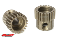 Team Corally - 64 DP Pinion - Short - Hardened Steel - 21 Teeth - Shaft Dia. 3.17mm