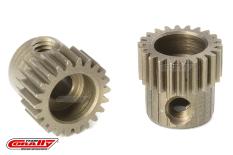 Team Corally - 64 DP Pinion - Short - Hardened Steel - 22 Teeth - Shaft Dia. 3.17mm