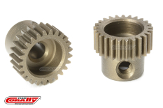 Team Corally - 64 DP Pinion - Short - Hardened Steel - 25 Teeth - Shaft Dia. 3.17mm