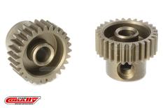 Team Corally - 64 DP Pinion - Short - Hardened Steel - 28 Teeth - Shaft Dia. 3.17mm