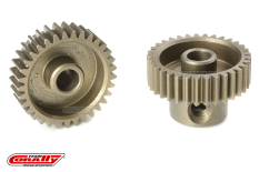 Team Corally - 64 DP Pinion - Short - Hardened Steel - 33 Teeth - Shaft Dia. 3.17mm