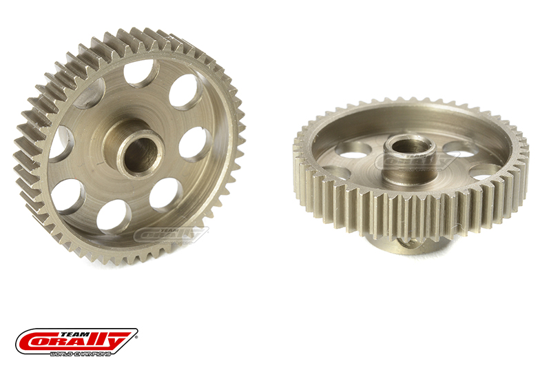 Team Corally - 64 DP Pinion - Short - Hardened Steel - 50 Teeth - Shaft Dia. 3.17mm