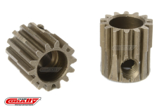 Team Corally - 48 DP Pinion - Short - Hardened Steel - 14 Teeth - Shaft Dia. 3.17mm