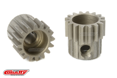 Team Corally - 48 DP Pinion - Short - Hardened Steel - 16 Teeth - Shaft Dia. 3.17mm