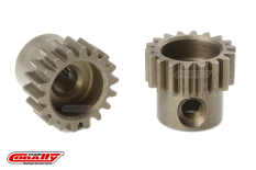 Team Corally - 48 DP Pinion - Short - Hardened Steel - 18 Teeth - Shaft Dia. 3.17mm