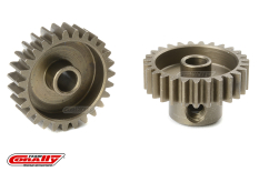 Team Corally - 48 DP Pinion - Short - Hardened Steel - 27 Teeth - Shaft Dia. 3.17mm