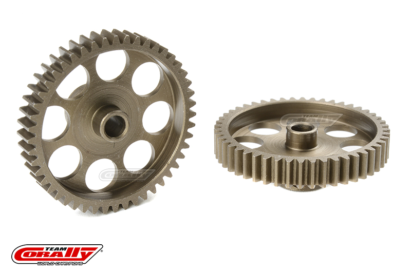 Team Corally - 48 DP Pinion - Short - Hardened Steel - 48 Teeth - Shaft Dia. 3.17mm