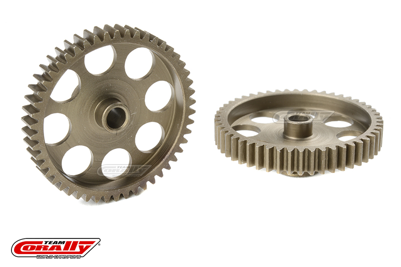 Team Corally - 48 DP Pinion - Short - Hardened Steel - 50 Teeth - Shaft Dia. 3.17mm