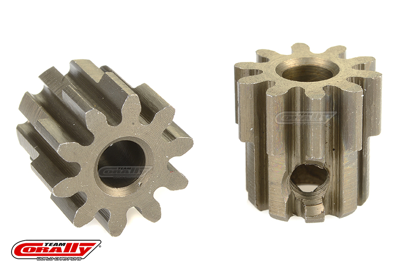 Team Corally - 32 DP Pinion - Short - Hardened Steel - 10 Teeth - Shaft Dia. 3.17mm
