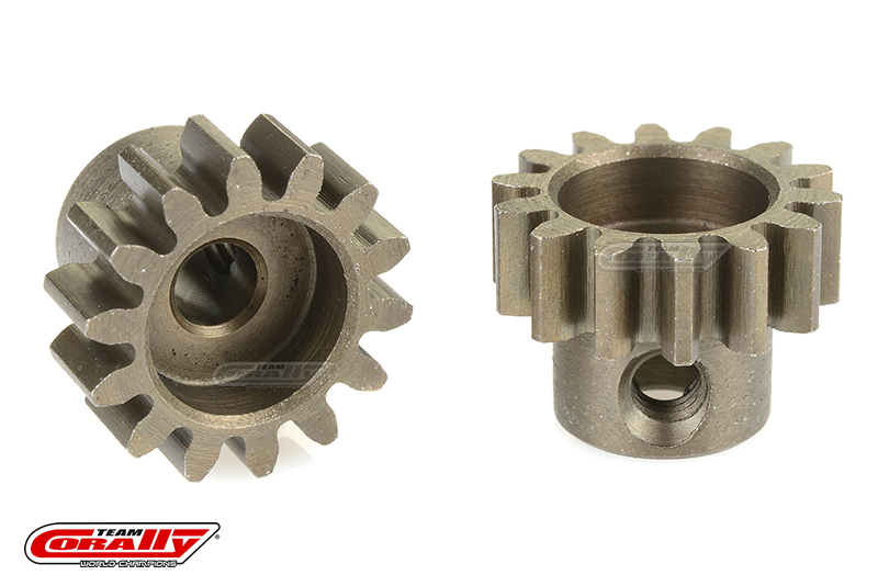 Team Corally - 32 DP Pinion - Short - Hardened Steel - 14 Teeth - Shaft Dia. 3.17mm