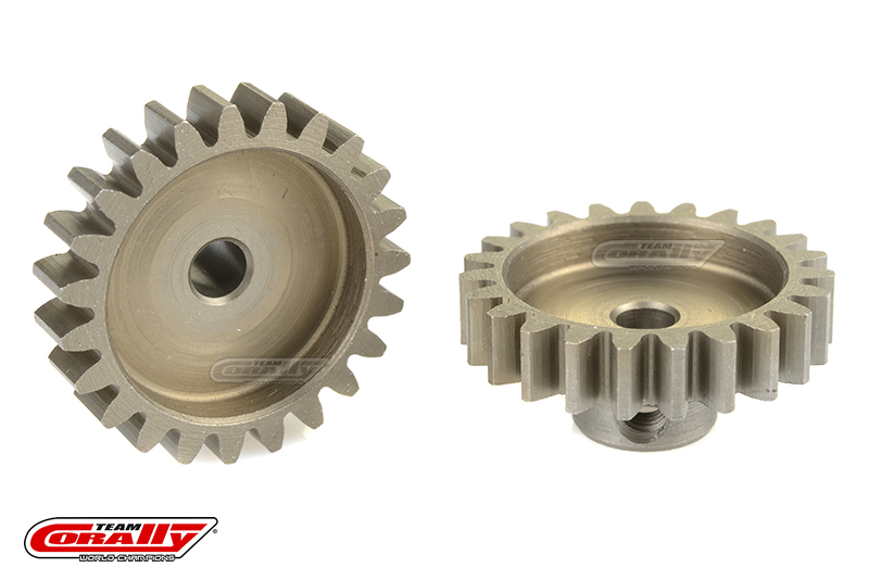 Team Corally - 32 DP Pinion - Short - Hardened Steel - 23 Teeth - Shaft Dia. 3.17mm
