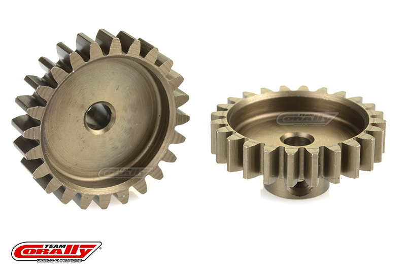 Team Corally - 32 DP Pinion - Short - Hardened Steel - 24 Teeth - Shaft Dia. 3.17mm
