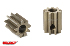 Team Corally - M0.6 Pinion - Short - Hardened Steel - 9 Teeth - Shaft Dia. 3.17mm