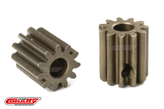 Team Corally - M0.6 Pinion - Short - Hardened Steel - 11 Teeth - Shaft Dia. 3.17mm
