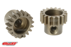 Team Corally - M0.6 Pinion - Short - Hardened Steel - 17 Teeth - Shaft Dia. 3.17mm
