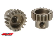 Team Corally - M0.6 Pinion - Short - Hardened Steel - 18 Teeth - Shaft Dia. 3.17mm