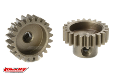 Team Corally - M0.6 Pinion - Short - Hardened Steel - 22 Teeth - Shaft Dia. 3.17mm