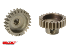 Team Corally - M0.6 Pinion - Short - Hardened Steel - 24 Teeth - Shaft Dia. 3.17mm
