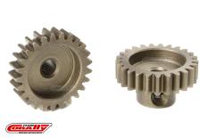 Team Corally - M0.6 Pinion - Short - Hardened Steel - 25 Teeth - Shaft Dia. 3.17mm