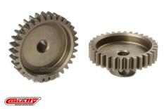 Team Corally - M0.6 Pinion - Short - Hardened Steel - 32 Teeth - Shaft Dia. 3.17mm