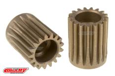 Team Corally - 48 DP Pinion - Short - Hardened Steel - 17 Teeth  - ø5mm