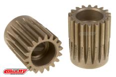 Team Corally - 48 DP Pinion - Short - Hardened Steel - 18 Teeth  - ø5mm