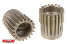 Team Corally - 48 DP Pinion - Short - Hardened Steel - 19 Teeth  - ø5mm