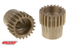 Team Corally - 48 DP Pinion - Short - Hardened Steel - 21 Teeth  - ø5mm