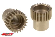 Team Corally - 48 DP Pinion - Short - Hardened Steel - 22 Teeth  - ø5mm