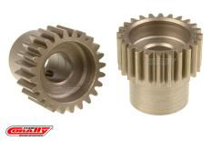 Team Corally - 48 DP Pinion - Short - Hardened Steel - 24 Teeth  - ø5mm