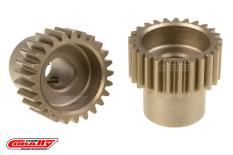 Team Corally - 48 DP Pinion - Short - Hardened Steel - 25 Teeth  - ø5mm