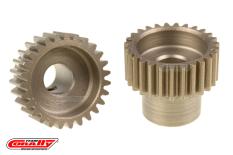 Team Corally - 48 DP Pinion - Short - Hardened Steel - 27 Teeth  - ø5mm