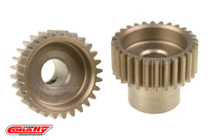 Team Corally - 48 DP Pinion - Short - Hardened Steel - 28 Teeth  - ø5mm