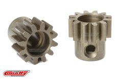 Team Corally - M1.0 Pinion - Short - Hardened Steel - 12 Teeth - Shaft Dia. 5mm