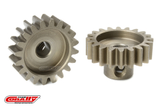 Team Corally - M1.0 Pinion - Short - Hardened Steel - 20 Teeth - Shaft Dia. 5mm