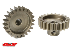 Team Corally - M1.0 Pinion - Short - Hardened Steel - 22 Teeth - Shaft Dia. 5mm