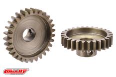 Team Corally - M1.0 Pinion - Short Wide Teeth - Hardened Steel - 29 Teeth - Shaft Dia. 8mm